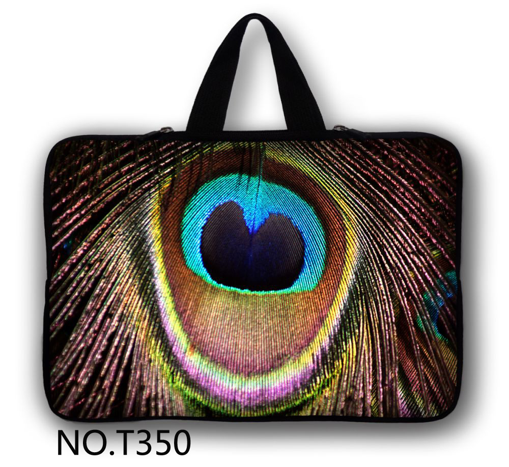 Павлин Перо Тетрадь Laptop Sleeve сумка для 13 13.3 дюймовый MacBook Air Pro Retina