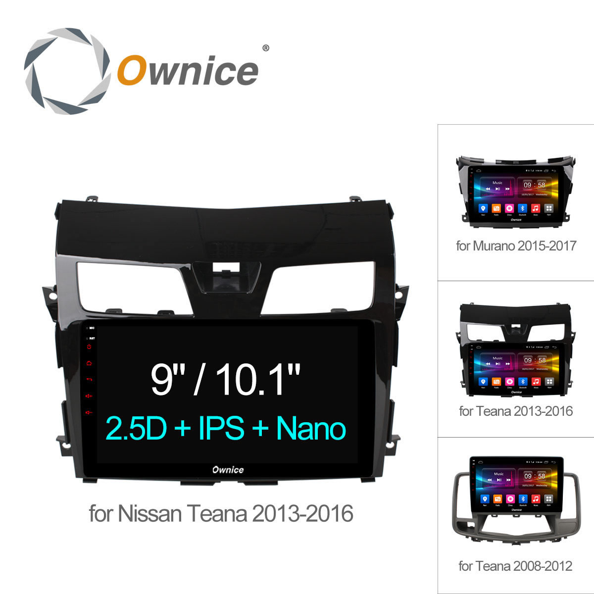 10.1 ownice C500 + Android 6.0 Octa core dvd-gps-навигация радио для Nissan 2008 2009 2015 teana 2017 Murano 4 г LTE